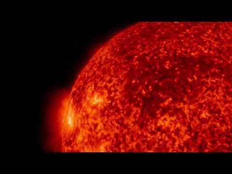 NASA Solar Dynamics Observatory shows sun's solar burst