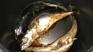 Самый простой способ приготовления скумбрии в мультиварке/Как приготовить рыбу