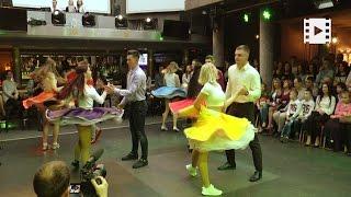 Танцювальний батл між студентами та викладачами Університету Короля Данила
