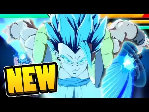 ANOTHER NEW SUPER! NEW Gogeta Blue Gameplay Trailer | Dragonball FighterZ DLC Analysis