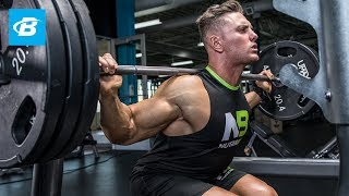 Total Leg Burnout Workout | Anthony Lavigne - WNBF Natural Pro Bodybuilder