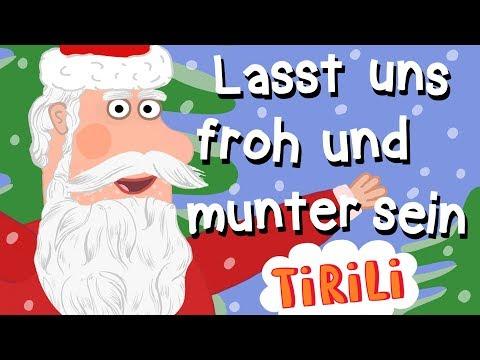 Nikolaus   Lasst Uns Froh Und Munter Sein   TiRiLi - Weihnachtslieder Mitsingen