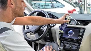 Pentru sănătatea ta și a pasagerilor în mașina ta SKODA, igienizează instalația de climatizare