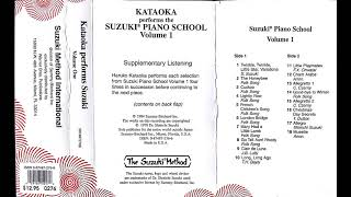 Haruko Kataoka performs the Suzuki Piano School- Volume 1