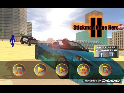 скачать игру Stickman Rope Hero 2 - фото 11