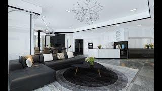 Thiết kế nội thất sang trọng ở căn hộ Royal city 200m2