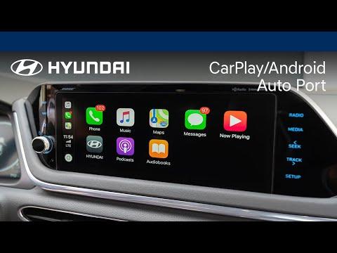 Apple CarPlay® and Android Auto™ I Hyundai