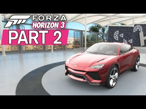 """Forza Horizon 3 - Let's Play - Part 2 - """"Bucket List #1, The Outback"""""""