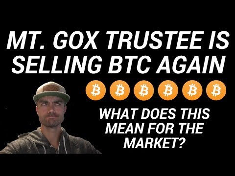 Mt. Gox Trustee Selling Bitcoin Again On Exchanges- CONFIRMED April 27