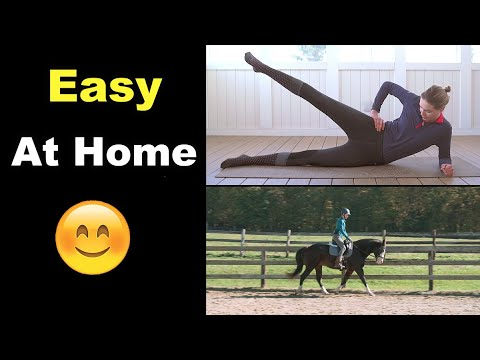 EQUESTRIAN WORKOUT (Easy At Home) ��