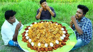 ANGRY BIRD BIRYANI | Kadai Biryani | Cooking Skill Village Food Channel