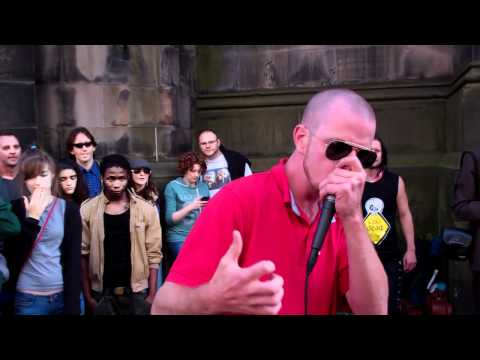 Dave Crowe Beat Boxer Royal Mile Festival Fringe Edinburgh Scotland August