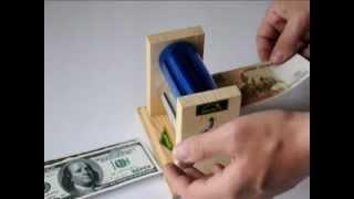 Аппарат для печатания денег в домашних условиях(Купить можно здесь: http://sibefs.ru/suvenir/biznes.php Аппарат предназначен для переработки бумажных отходов в денежные..., 2012-05-01T03:41:31.000Z)