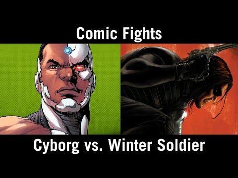 Comic Fights: Cyborg vs. Winter Soldier