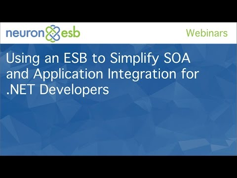 Using an ESB to Simplify SOA and Application Integration for .NET Developers