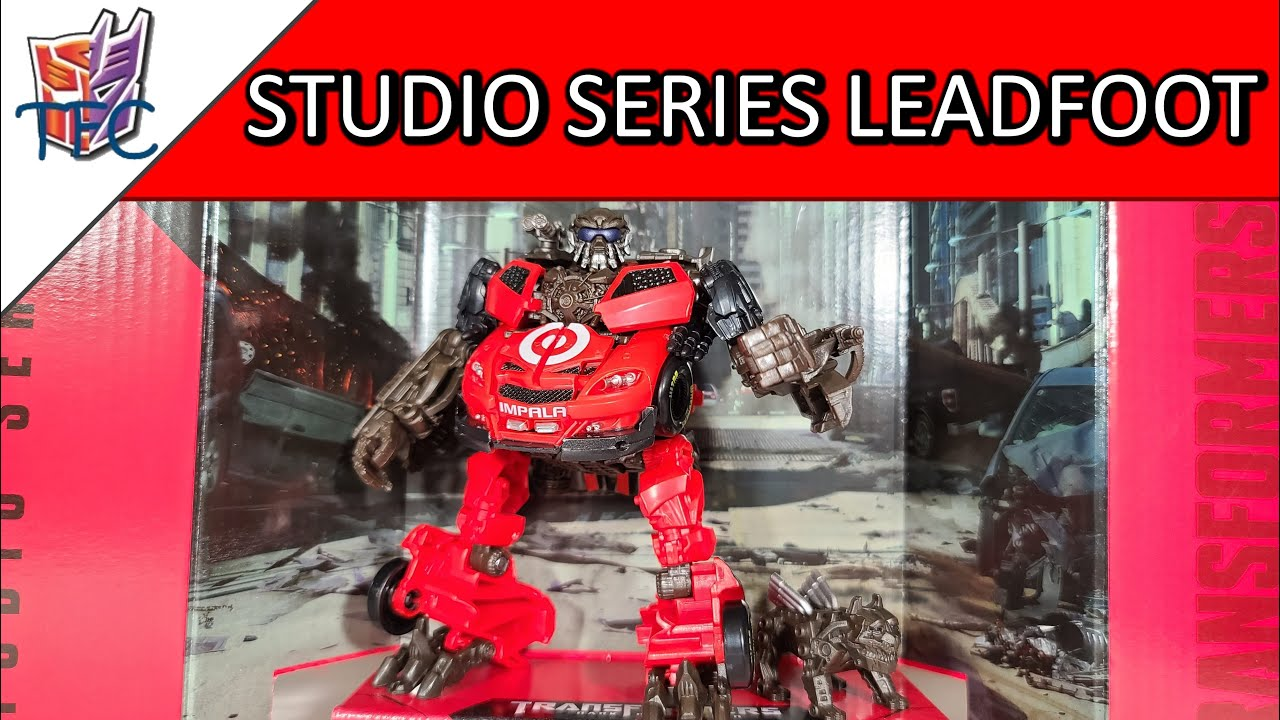 TF Collector Studio Series Leadfoot Review!