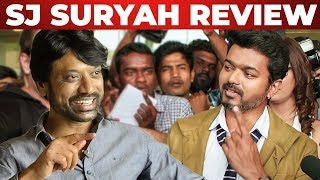 SJ Suryah Reacts on SARKAR STORY