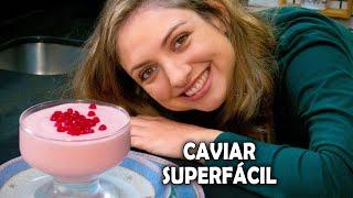 Faça AGORA o delicioso caviar de pobre