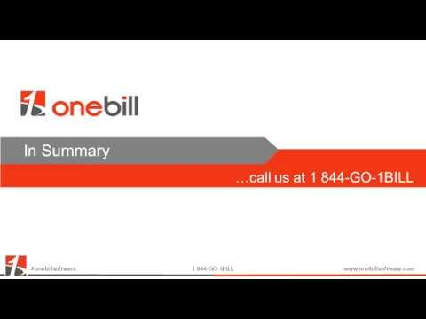 OneBill Telecom Billing and Taxation Integration Explained