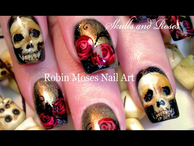 Skull And Skeleton Nail Art That Will Thrill You To The Bone With