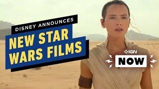 Disney Announces New Star Wars Films & Avatar Sequels Dates - IGN Now