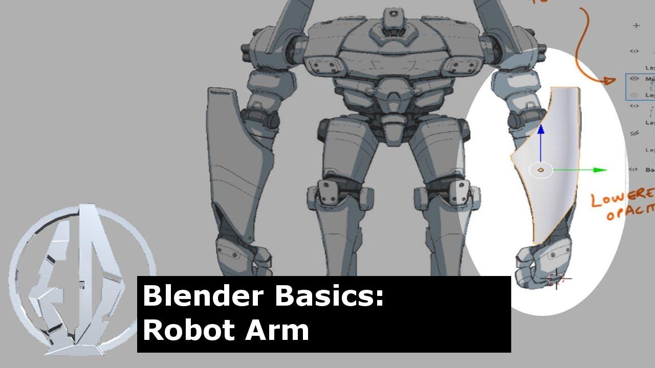 Blender Basics Mech Arm 1 2 YouTube