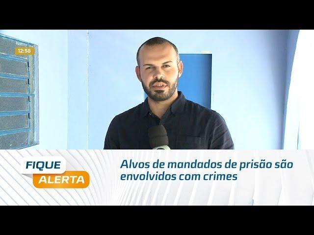 Alvos de mandados de prisão são envolvidos com crimes em Alagoas e Pernambuco