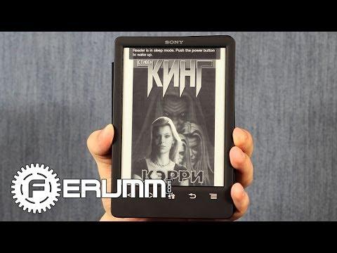 Sony PRS-T3 обзор.  Подробный видеообзор электронной книги Sony PRS-T3 от FERUMM.COM