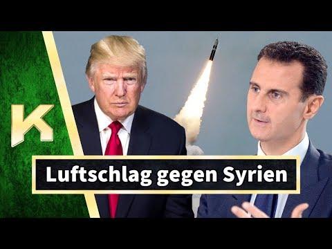 Luftschläge gegen Syrien