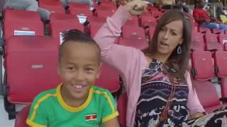 Natraj TV NATIO SURINAME  vs   TELSTAR  voetbal tour 2019
