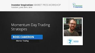 Momentum Day Trading Strategies | Ross Cameron