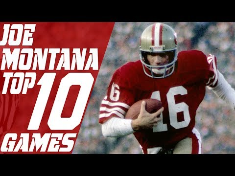 Top 10 Joe Montana Games of All Time  NFL Films