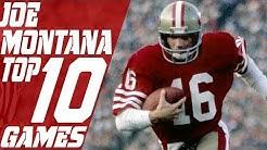Top 10 Joe Montana Games of All Time | NFL Films