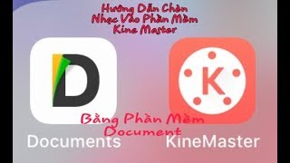 Cách chèn nhạc vào phần mềm Kine Master trên điện thoại iphone - Góc Chia Sẻ Hoàng Việt (Phần 1)