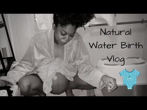 NATURAL WATER BIRTH | LABOUR & DELIVERY VLOG | BIRTH OF KIARÁN