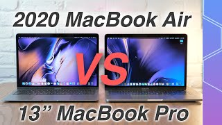 "NEW 2020 MacBook Air vs 13"" MacBook Pro, which should you buy?"