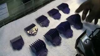 Andis Nano-Silver Magnetic (Guards) Comb Set