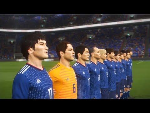 ウイニングイレブン2018 兄貴ジャパン アジア予選→ワールドカップ目指す