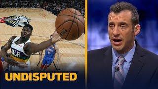 Zion Williamson is 'Lamar Jackson-ing the NBA' right now — Doug Gottlieb   NBA   UNDISPUTED