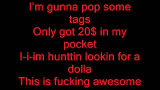 Macklemore - Thrift Shop Ft. Wanz Lyrics On Screen Mp3