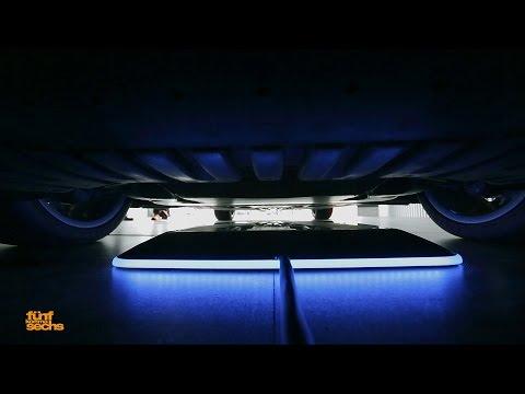 Wireless Charging: The Impressive S 550 PLUG-IN HYBRID (German)