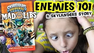 a Skylanders Mad Libs Story: Enemies 101 + Interactive Contest   (Universe Word Game Book)