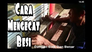 Download Video Tutorial Mengecat Besi menggunakan kuas MP3 3GP MP4
