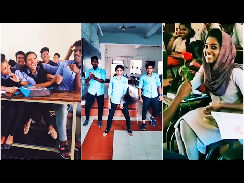 College Boys and Girls Funny TikTok Videos Part-3 College Galatta College Fun #CollegeStudentsTikTok