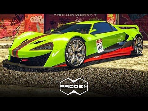 NUEVO COCHE!! PROGEN ITALI GTB! - GTA V ONLINE