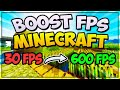 How To INCREASE Your FPS In MINECRAFT 2019! 🎮 (1.14.4 - BOOST Your FPS)
