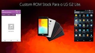Custom ROM Para o LG G2 Lite.