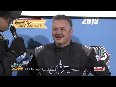 Knoxville Raceway: Joe Beaver Victory Lane - May 4, 2019
