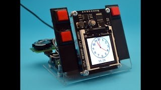 Часы- будильник - скетч от Саныча. Arduino UNO, RTC, LCD Nokia 6100