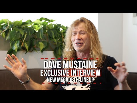 Dave Mustaine on Camaraderie Within New Megadeth Lineup